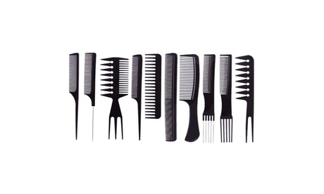 New Professional Men's Hairdressing Styling Combs (Set-of-10) 73c53ec2-f628-406f-93b7-cace039211ca