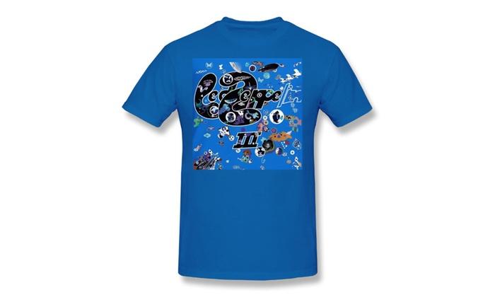 Men's Led Zeppelin T-Shirt Blue
