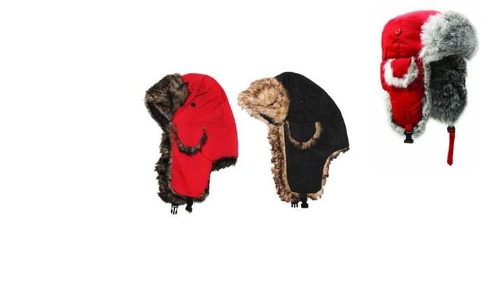 Warm and Hot Eskimo Alaskan Fur Style Winter Weather Caps