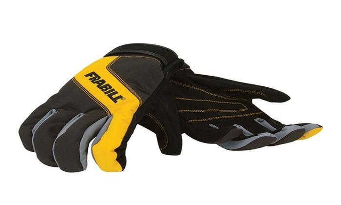 Field Supply: Frabill All Purpose Task Glove (XL)- Black/Yellow
