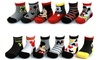 Baby Boys Mickey Mouse Assorted Color Design 12 Pair Socks Set