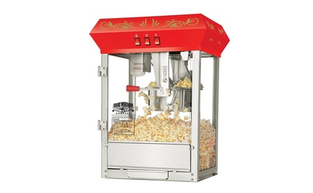 Great Northern 6129 Red Eight Ounce Foundation Popcorn Machine Top bb21fbae-5a5d-401e-854b-08ff13f56e6e