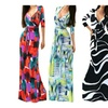 Women's Quarter Sleeve V-Neck Wrap Maxi Dress (PLUS Sizes Available)
