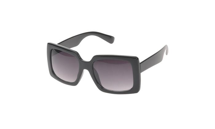 MLC Eyewear 'Thalia' Bold Square Fashion Sunglasses