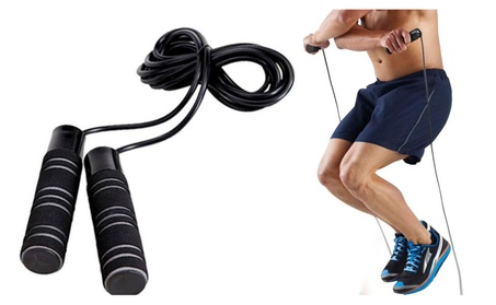 Jump Rope For Fitness Lovers 3in1 Adjustable Length
