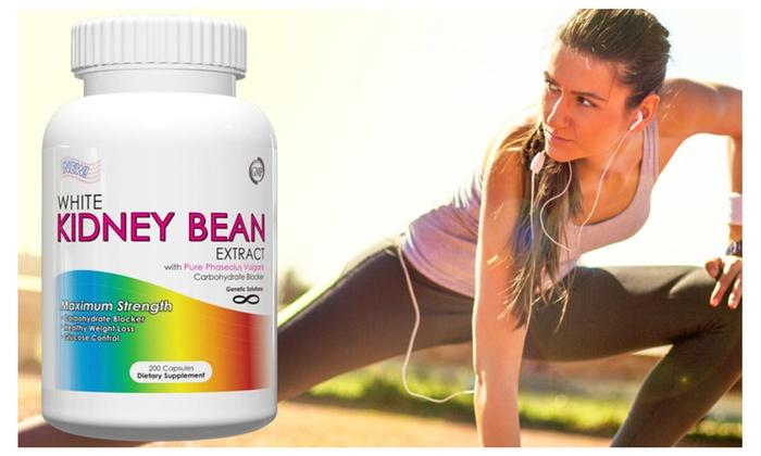 Buy It Now : White Kidney Bean Extract Carb Blocker 200 Capsules