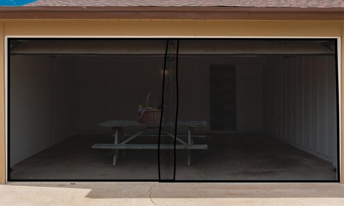 Pure Garden Garage Door Screen Curtain ...