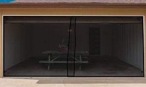Pure Garden Garage Door Screen Curtain