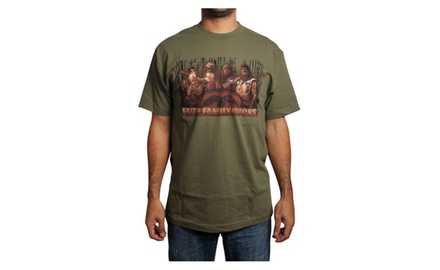 Fame, Family, Ducks Military Green T-shirt