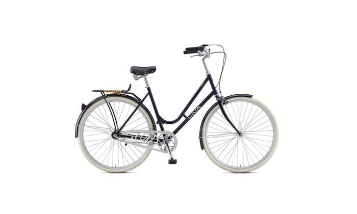 "Viva Dolce 3 City Bicycle, 28"" tires, 47cm frame, Women's Bike, Black"