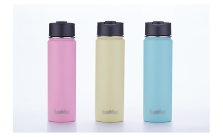 Stainless Steel Spray Coated Leak Proof Double Wall Water Bottle 22oz 592a864f-9abe-4989-821d-122d52ad3fbd