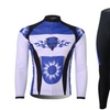 Men's Outdoor Quick Dry Long Sleeve Cycling Jersey Set