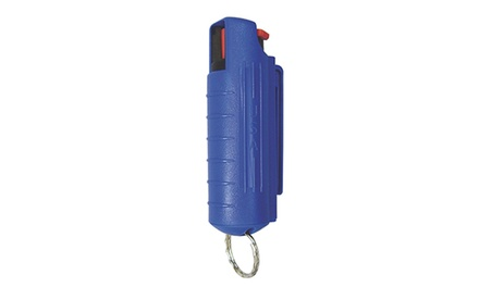 1/2 Oz. Pepper Spray with Hard Case and Key Ring Was: $14.99 Now: $7.49.