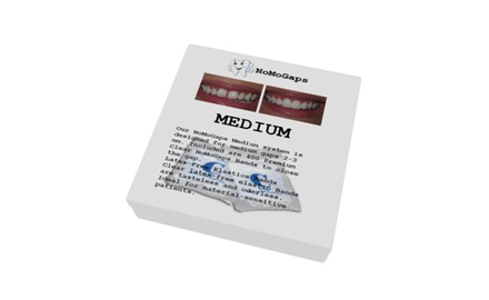 NoMoGaps Medium/Multiple Gap Teeth Fix System & teeth whitening system