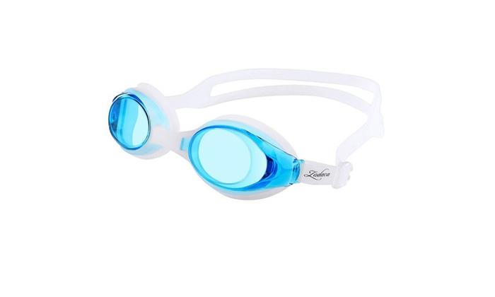 Zodaca  Kids Adjustable Non-Fogging Anti UV swim Goggles Light Blue