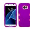 Insten Tuff Hard Hybrid Case For Samsung Galaxy S7 Purple/pink