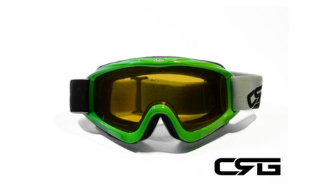 CRG Motocross ATV DIRT BIKE OFF ROAD RACING GOGGLES Adult CRG26-12