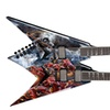 Dean V Dave Mustaine Double Neck Electric Guitar - Diadem w/Case