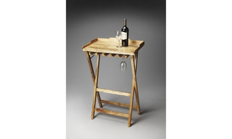 Butler Highland Solid Wood Folding Wine Rack def36b17-4ab8-4bc7-9bed-0e955d090aa0
