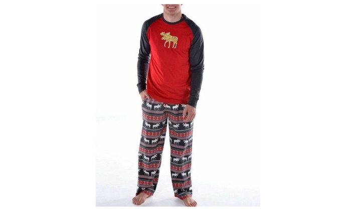 family matching christmas pajamas pjs sleepwear sets for family men