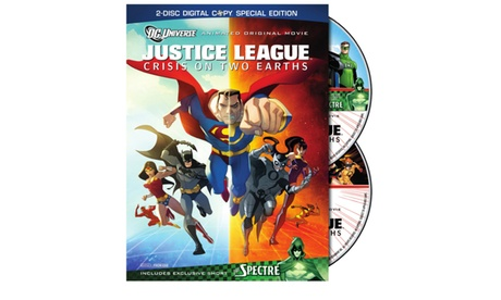 DCU Justice League: Crisis On Two Earths: Special Edition (DVD) 3d610f92-cca6-4a59-8b75-1fe715470fde