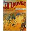 Cycles JB Louvet Canvas Print