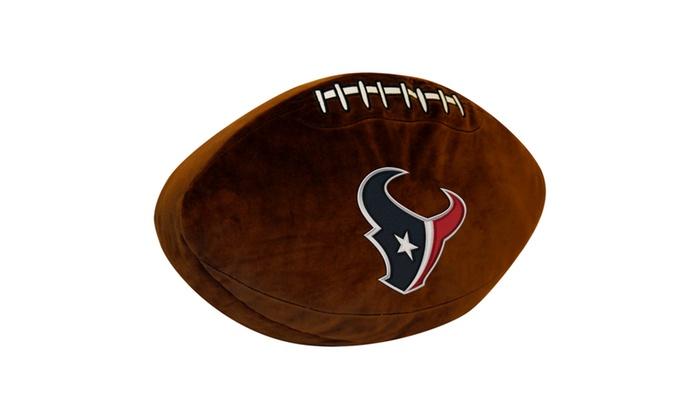 NFL 199 Texans 3D Sports Pillow