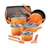 Rachael Ray 14-Piece Hard Enamel Nonstick Cookware Set