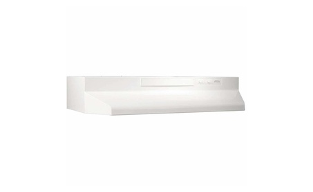 Broan F404211 42 Inch Range Hood - White photo