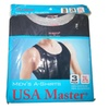 Men's 100% Cotton Perfect-Fit Ribbed Tank Tops - 3- Pack