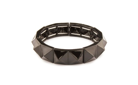 Bangle Collection Black Burnish