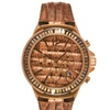 Michael Kors Womens Gramercy Rose Gold-tone Chronograph Watch