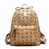 Pu Leather Travel Backpacks