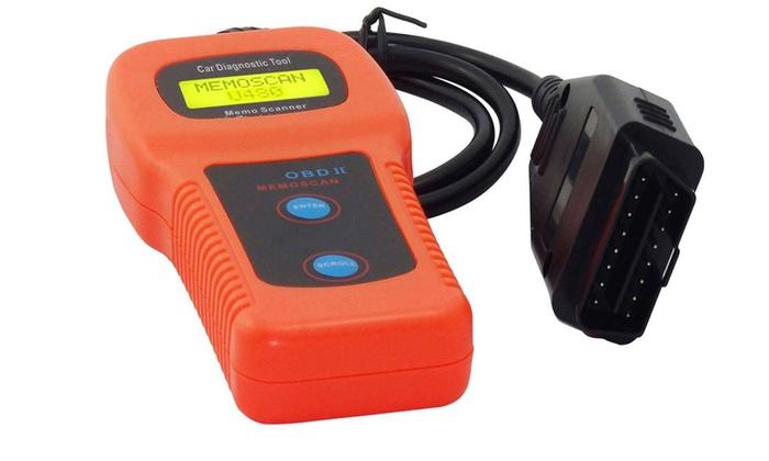 New Car Diagnostic Scanner Tool Memo Engine U480 CAN OBDII OBD2