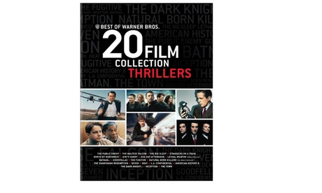 Best of Warner Bros. 20 Film Collection Thrillers (DVD) d7714213-4caf-466f-b6ed-9797b29388fd