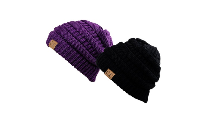 258159b5c25 Chunky Cable Knit Beanie
