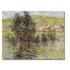 Claude Monet Vetheuil View from Lavacourt Canvas Print