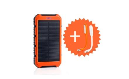 10000mAh Solar Battery Panel