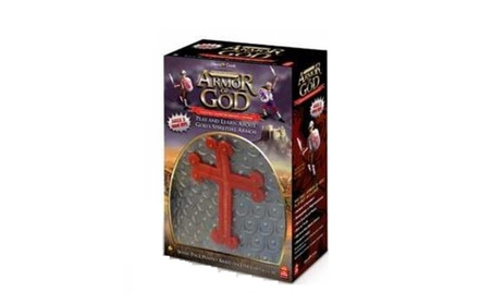 David C. Cook 454045 Toy Playset Full Armor Of God 6 Pc Gray Red Boys 211a2ee3-254b-4a9e-919a-c1e7f5eda765
