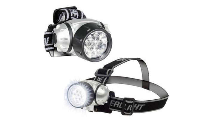 7 LED Adjustable Head-Lamp (2 Pack)