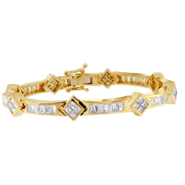 14k Yellow Gold 5 3 8 Carat Tdw Diamond