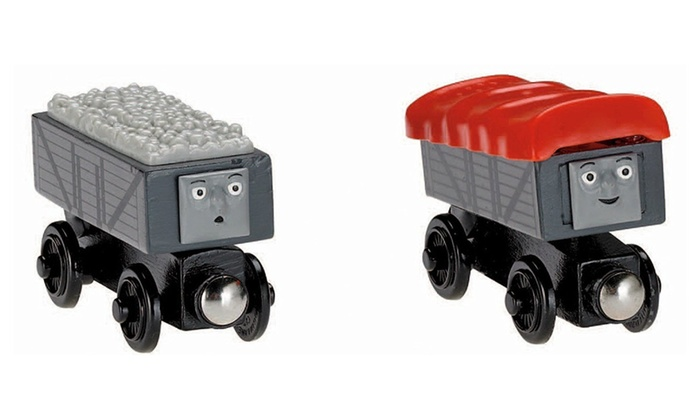 Thomas Friends Wooden Railway Giggling Troublesome Trucks Y4421