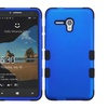 Insten Tuff Hybrid Silicone Case For Alcatel One Touch Fierce XL Blue