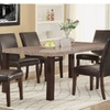 Fagernes 7 Piece Dining Set in Espresso