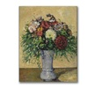 Paul Cezanne Bouquet of Flowers in a Vase Canvas Print