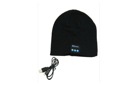 Music Beanie with Bluetooth Connectivity for iPhone and Android 59bc0de1-7604-4f67-9af9-e0424108fffc