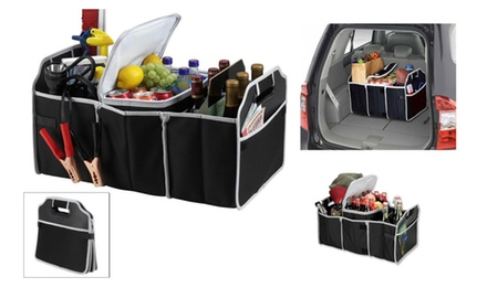 Collapsible Trunk Organizer for Cars Trucks and Mini Vans