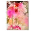 Sheila Golden Pink Garden Canvas Print