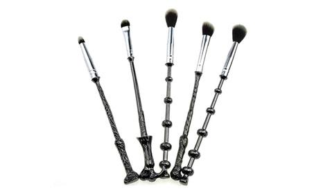 5Pcs Harry Potter Magic Wand Makeup Brush Cosmetic Tool 80bfadb2-f991-4367-9aff-8b7c505e39da