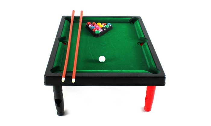 Mini Master World Champion Toy Billiard Pool Table Game Groupon - Master pool table